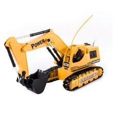 deAO RCT-7 R/C High Tech Power Excavator Digger Truck With Flash Crawler