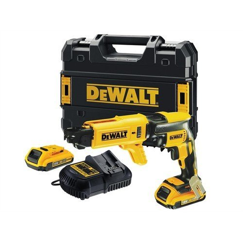 DeWalt DCF620D2K Brushless Collated Drywall Screwdriver 18 Volt 2 x 2.0Ah Li-Ion
