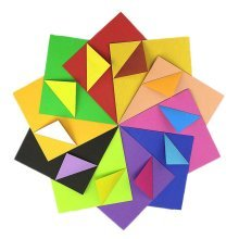 160 Pieces Craft Folding Origami Papers 15x15cm Folding Papers