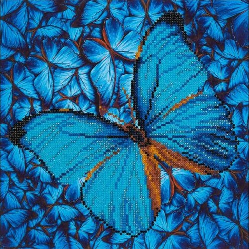 Diamond Dotz Diamond Embroidery Facet Art Kit - Flutter By Blue