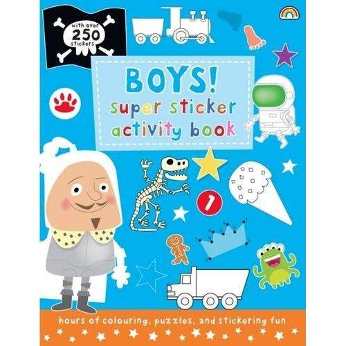 Super Sticker Activity Book - Boys