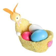 Children DIY Easter Eggs/Plastic/Painting Eggs-(Set of Five)-Orange