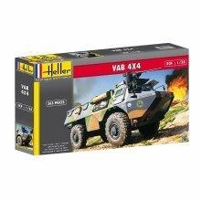 Hel81130 - Heller 1:35 - Vab 4 X 4 Transp Ort De Troupes (troop Transpor