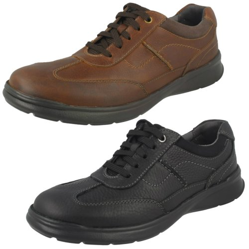Mens Clarks Casual Shoes Cotrell Style - G Fit
