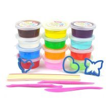 Crystal Clay 12 Colors Kids Toys Slime Children Educational Mud Creative