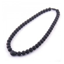 Baby Choos Jewellery Black Heart Necklace