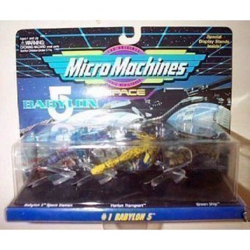 Babylon 5 Micro Machines Set 1