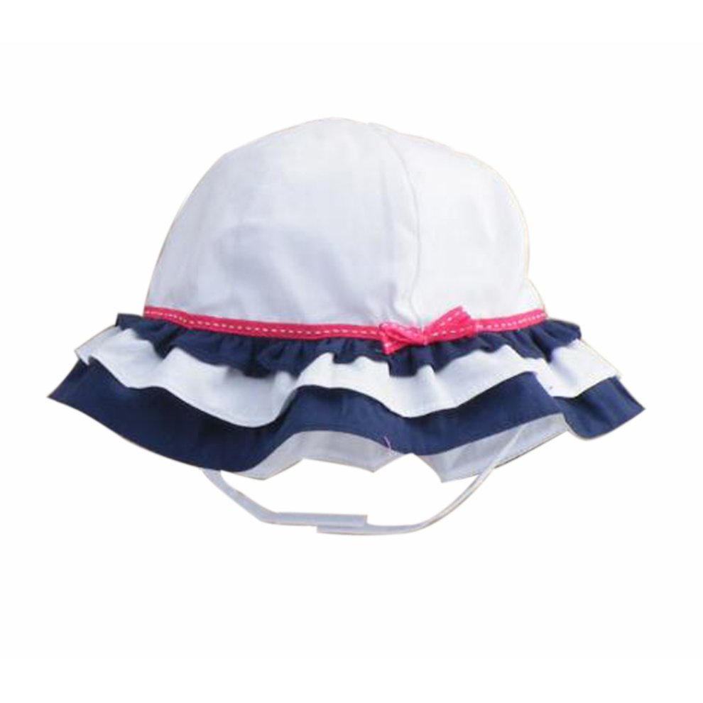 070c5698992 Summer Baby Girl Caps Cotton Sun Hat For 2-3 Years Baby White on OnBuy
