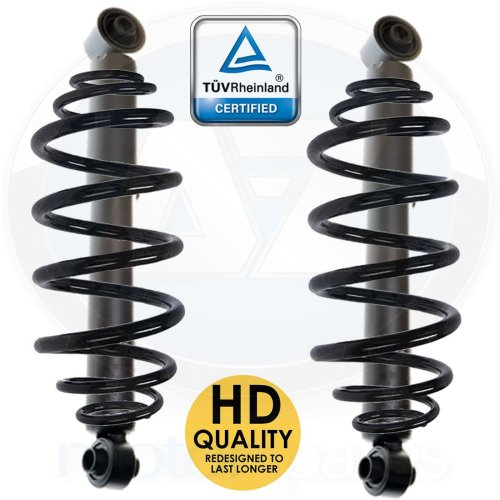 For Mercedes Viano Vito mixto Van W639 Rear suspension coil spring shockers kit