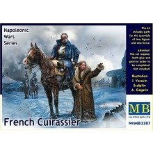 "Mas3207 - Masterbox 1:32 - ""french Cuira Ssier, Napoleonic Wars Series"""