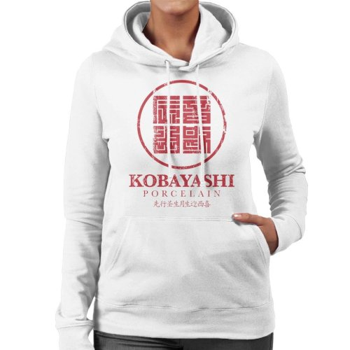 Kobayashi Porcelain Block Logo Usual Suspects Women's Hooded Sweatshirt