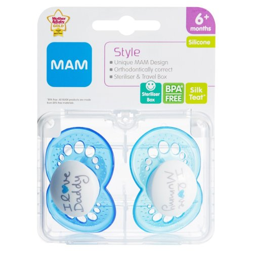 Mam Style 6+m Soother - Boy (blue)