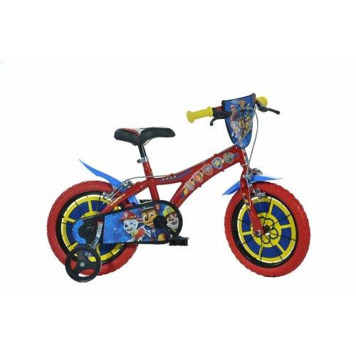 Dino Paw Patrol Kids Bike with Stabilisers