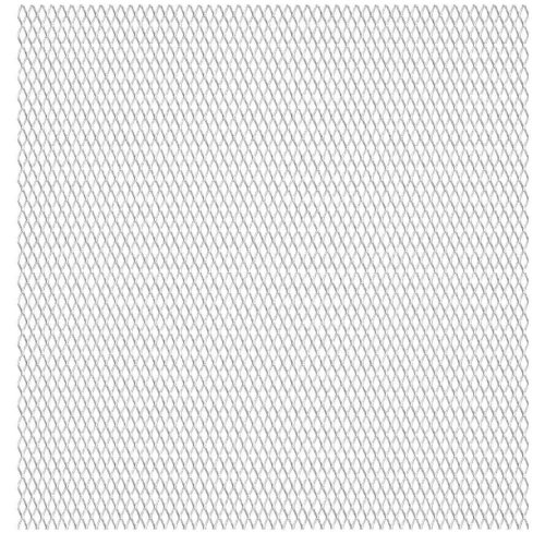 vidaXL Stainless Steel Expanded Wire Mesh Panel 50x50 cm 20x10x2 mm