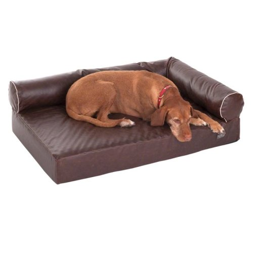 Divan Wellness Dog Sofa - Brown