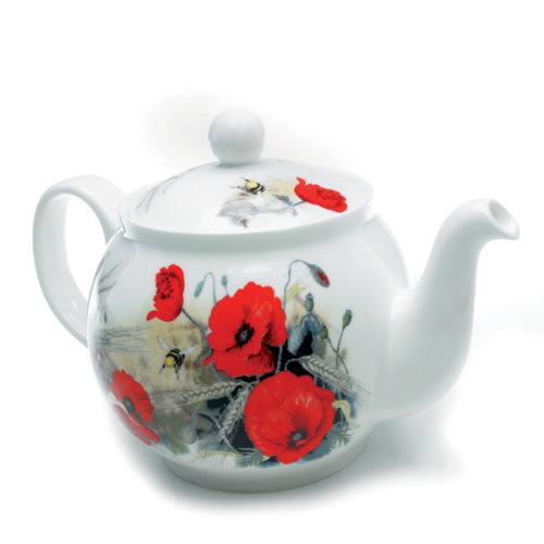 Roy Kirkham Teapot Poppy