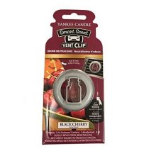 Yankee Candle Black Cherry Smart Scent Vent Clip Air Freshener Odour Neutralize