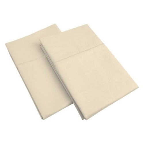 Impressions 800SDPC SLGR 800 Standard Pillow Cases, Egyptian Cotton Solid - Grey