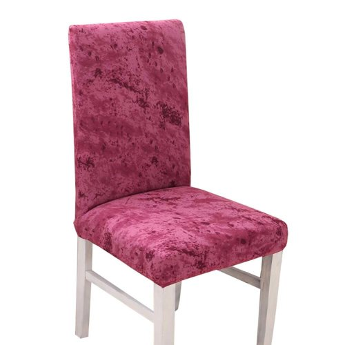 Spandex Fabric Stretch Dining Room Chair Slipcover - The Chair is not Included - 25