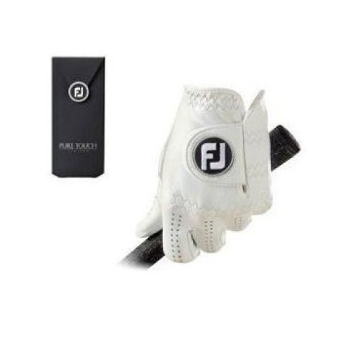 FootJoy Pure Touch - Golf Gloves for Left Hand Color: White Size: ML