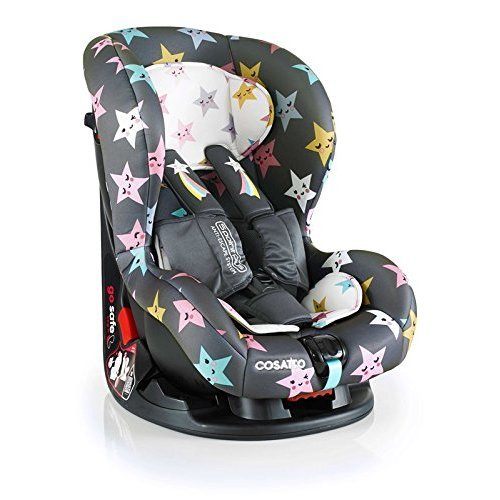 Cosatto Moova 2 Car Seat Group 1 (9-18 kg), Happy Hush Stars