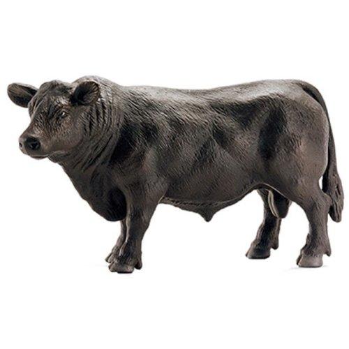 13766 Angus Bull Figurine, Black