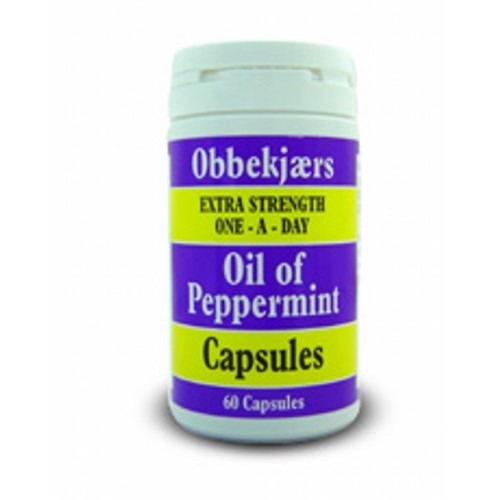 Obbekjaers Obbekjaers Extra Strength Oad Oil of Peppermint 60