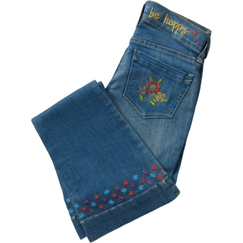 "Bucilla Fashion Embroidery Template Kit 5""X6""-Be Happy"