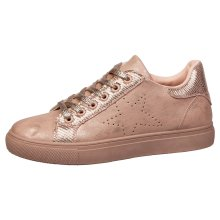 Drake Womens Flat Lace Up Skater Style Trainers