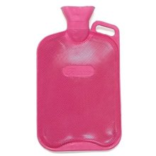 Finesse Thermoplastic Double Rib Hot Water Bottle -  finesse thermoplastic double rib hot water bottle
