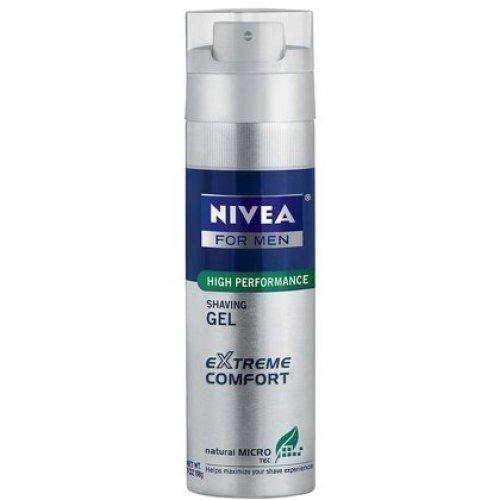 Nivea for Men Extreme Comfort Shaving Gel, 7 oz