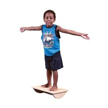 Abilitations Birch Plywood 4 Way Tilt Board with Carry Handle, 15 L x 15 W