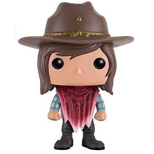 Funko Pop! TV: Walking Dead - Carl with BD poncho Vinyl Figure
