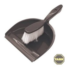 175mm Dustpan & Brush Set - Task 245471 -  dustpan brush set task 245471