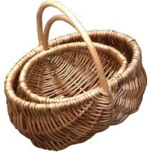 Set of 2 Confectionery Shopping Baskets
