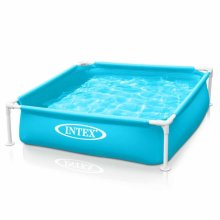 Intex 57173 Mini Frame Square Pool for Children