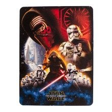 "Star Wars The Force Awakens Super Plush Throw Blanket Kylo Ren (48"" x 60"")"