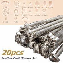 20pcs Leather Working Saddle