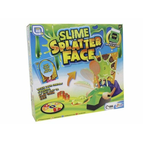 Slime Splatter Face Spin The Wheel Slime Game