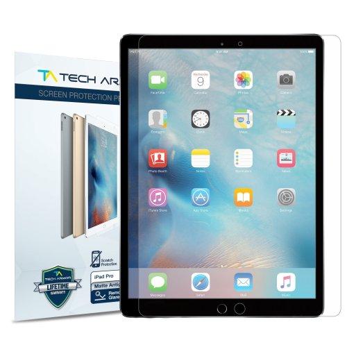"Tech Armor - Anti-Glare/Anti-Fingerprint Screen Protectors iPad Pro 12.9"" Clear"