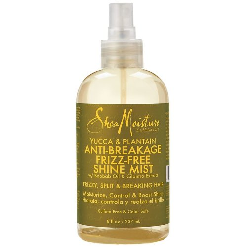 Shea Moisture Yucca & Plantain Anti-Breakage Frizz-Free Shine Mist 237ml