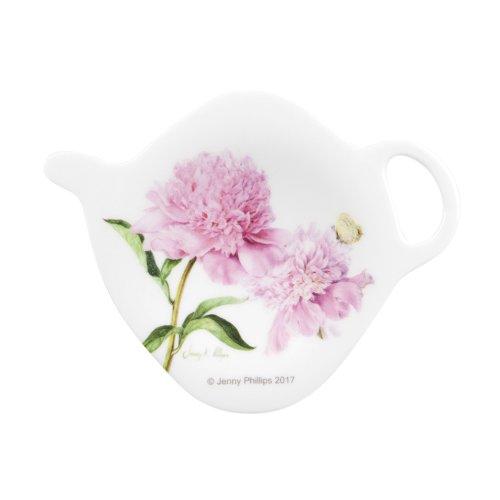 Ashdene Pink Peonies Tea Bag Holder