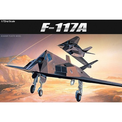 Aca12475 - Academy 1:72 - Lockheed F-117a Stealth Fighter