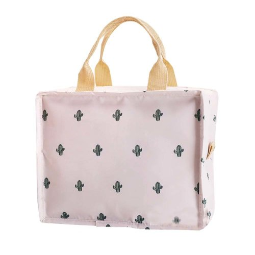 e212a28a2 New Portable Waterproof Insulated Lunch Bag Tote Bag for Women, Cactus on  OnBuy