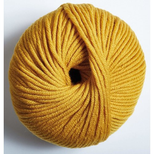 "DMC ""WOOLLY 5"" Merino Wool, Mustard, 80 m"