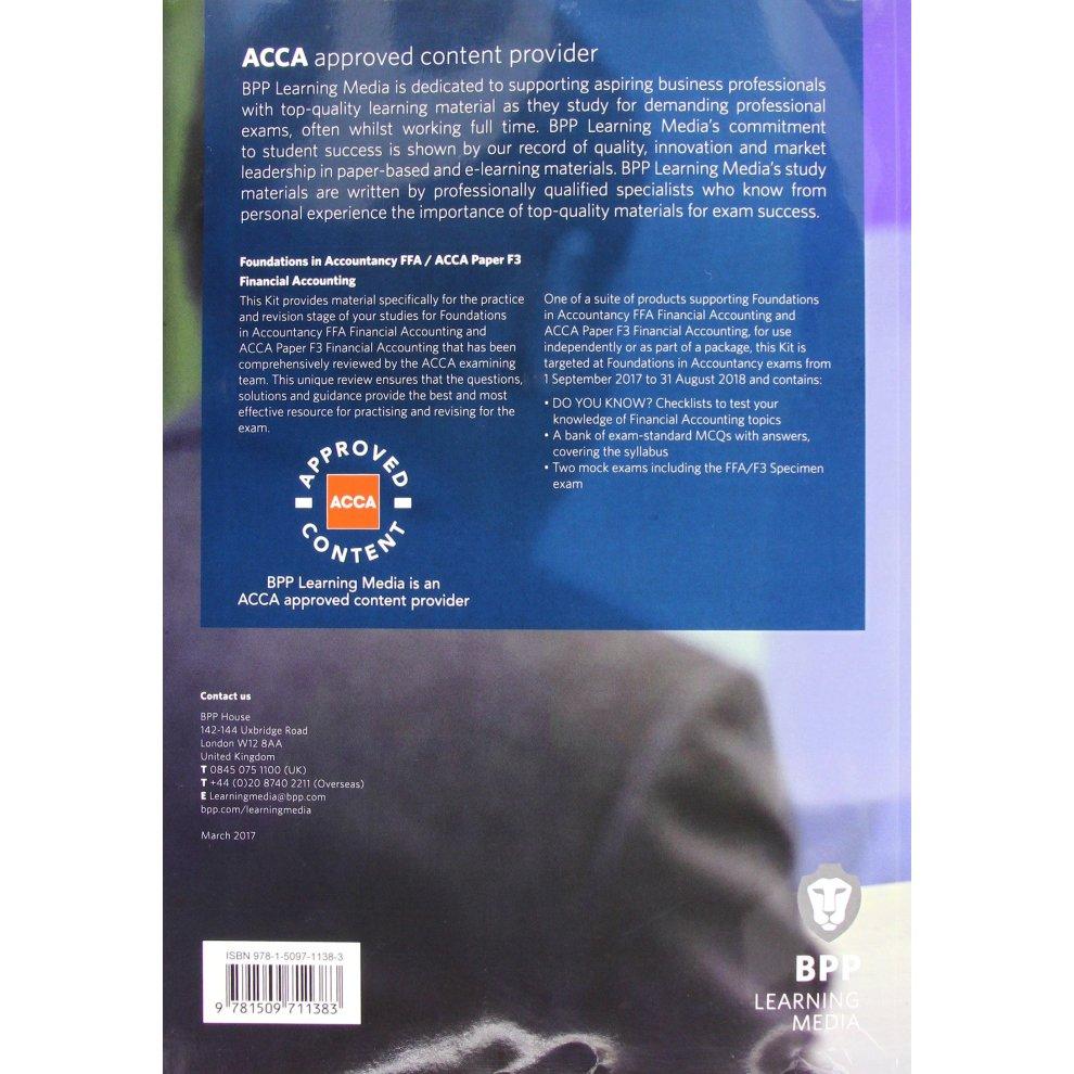 bpp acca study guide f3