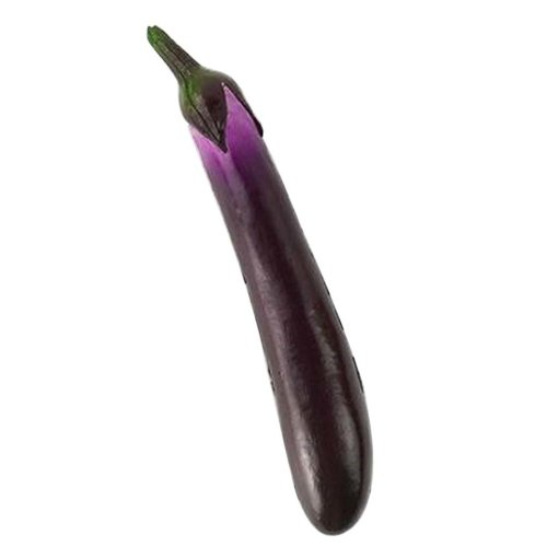 [Eggplant] Artificial Vegetable Lifelike Vegetable Faux Vegetable Home Decor