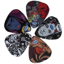 5 PCS Fingers Music Play Guitar Picks Acoustic Guitar Thickness 0.46 MM, A8