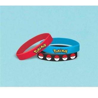 Pokemon 30362675 Stretchy Bracelets - 6 per Pack