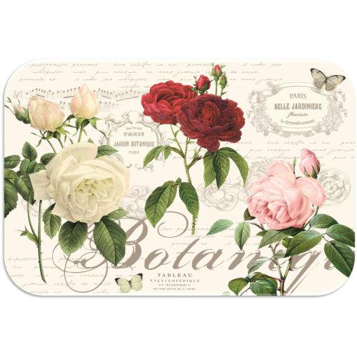 Tuftop Medium Smooth Worktop Saver, Garden Rose 40 x 30cm